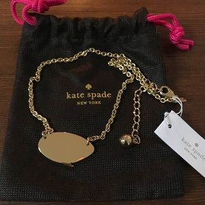 NEW! Kate Spade Quote Unquote Necklace